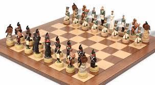 napoleon vs russia theme chess set the chess store