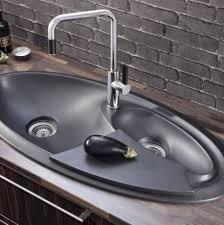 Modern Kitchen Sink Design by Kitchen Fantastic Kitchen Sink Design Ideas With Ovale Black