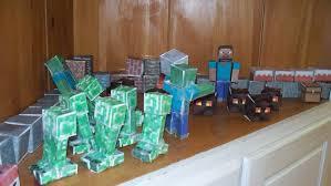 make do minecraft 8th birthday party
