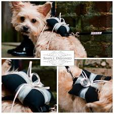 dog ring bearer pillow country winter weddings wedding ring bearer pillow holder