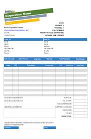 free blank invoice templates in pdf word excel trucking template