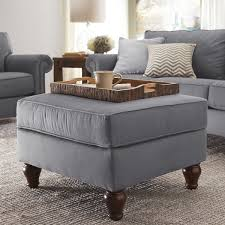 stylish fabric ottoman coffee table tables u0026 chairs contemporary