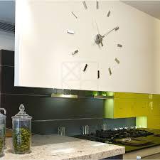 horloge de cuisine design horloge cuisine design inox cuisine idées de décoration de