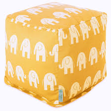 Tufted Pouf Ottoman by Cubes Poufs Footstools Majestic Home Goods
