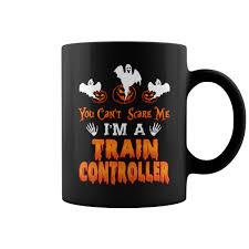 halloween controller halloween you can u0027t scare me i u0027m a trian controller mug t shirt