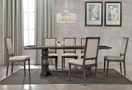 grey dining table set avondale rustic grey dining table