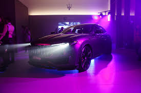 matte purple maserati maserati levante s gets upgrades from larte design drivers magazine