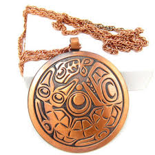 solid copper necklace images Shop native american copper jewelry on wanelo jpg