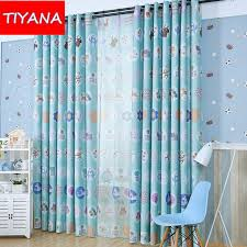 Curtains For Baby Boy Bedroom Eco Friendly Window Curtains Animals Forest Curtains For