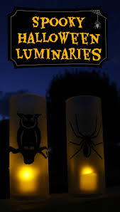 spooky halloween luminaries u2013 at home with sweet t