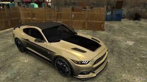 Black Mustang Gt 2015 Ford Mustang Gt 2015 Custom Kit Black Stripes Gt For Gta 4