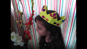 diy paper crafts for kids how to make a crown out of paper