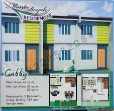 36 sqm gabby townhouse monte royale 36sqm lot parksville