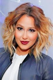 ombre hair color on short hair women medium haircut