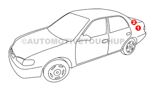 volkswagen paint code locations touch up paint automotivetouchup