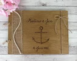 nautical photo album nautical album etsy