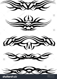 tribal tattoo armband stock vector 65646820 shutterstock