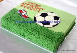 football cakes soccer 4 in a cake ina cakes