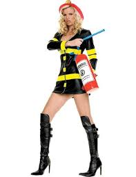 Wet T Shirt Halloween Costume by Amazon Com Leg Avenue Women U0027s Firefighter Costume Clothing