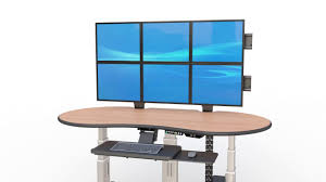 Jesper Sit Stand Desk by Oval Shaped Radiology Sit Stand Desk Youtube