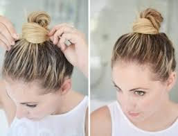 buns hair 20 simple hair buns