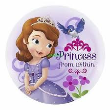 sofia the cake topper sofia the kid edible birthday cake topper frosting
