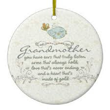 grandmother ornaments keepsake ornaments zazzle