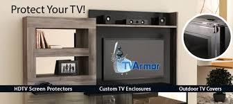 tv screen protectors enclosures monitor protection tv armor com