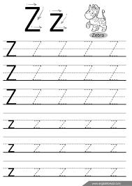 letter tracing worksheets letters u z