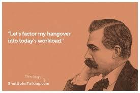 Hangover Meme - parched