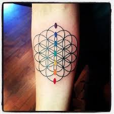 enchanting babble flower of life tattoo art