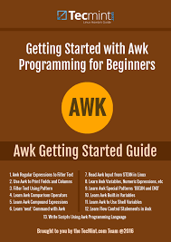 ebook introducing the awk getting started guide for beginners
