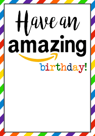 birthday cards free printable paper trail design