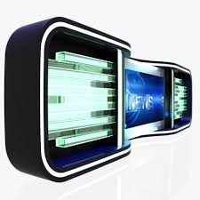 News Studio Desk by Virtual Tv Studio News Desk 5 3d Model Cgstudio