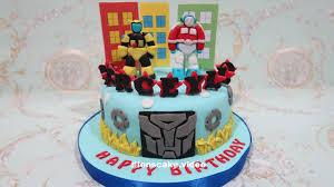 transformer birthday cake how to make birthday cake robot transformers cara membuat kue