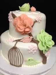bird baby shower plumeria cake studio bird baby shower cake