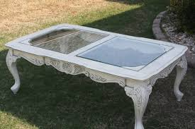 stunning wooden table or called coffee table shabby chic just