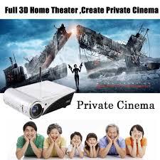home theater 4k projector nierbo 4k projector mini 3d dlp projectors windows 10 home theater