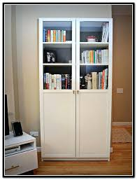 White Bookcase With Doors Ikea White Bookcase With Doors Ikea Billy Bookcase White With Doors