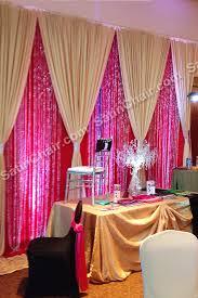 wedding backdrop linen gold on beaded backdrop gold luxury linens satinchaircovers