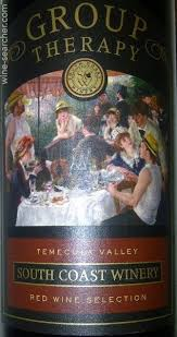 tasting notes south coast winery group therapy temecula valley usa