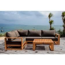 canape angle exterieur canape exterieur bois les cabanes de jardin abri de jardin et