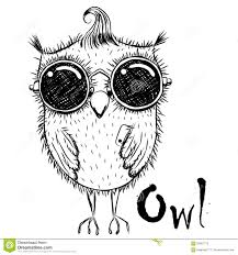 cute cartoon owl stock vector image 65607710