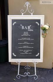 cocktail drinks menu bar menu wedding bar sign cocktail signature drinks menu