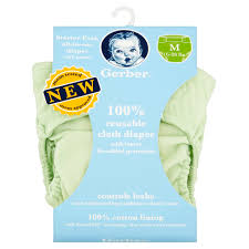 Cloth Diaper Starter Kit Gerber All In One Reusable Diaper With Insert 2 Pc Choose Your