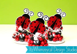 candy containers for favors ladybug birthday party bug ladybug party candy