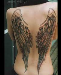 37 and evil wings tattoos throughout wings for