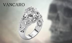 vancaro engagement rings the chain four skulls style ring for women vancaro
