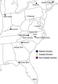 Football Conference Table Atlantic Coast Conference Wikipedia