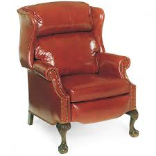 Hancock And Moore Leather Chair Prices U0026 Moore Sterling Bustle Back High Leg Recliner